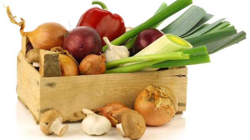 debnička, zelenina,