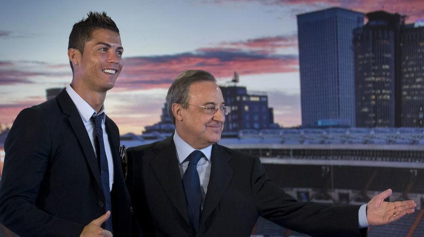 Florentino Pérez, Cristiano Ronaldo
