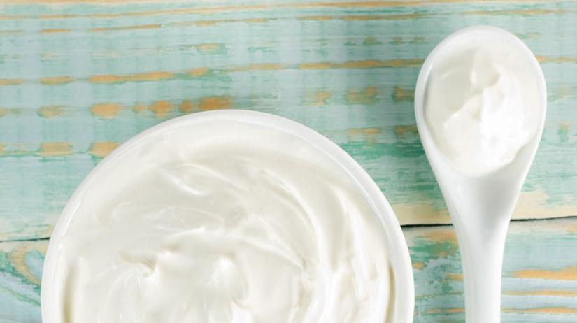 jogurt, suchá pleť
