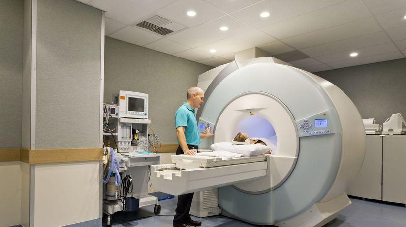 CT prístroj, lymfóm