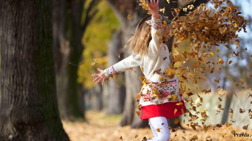 jeseň, babie leto