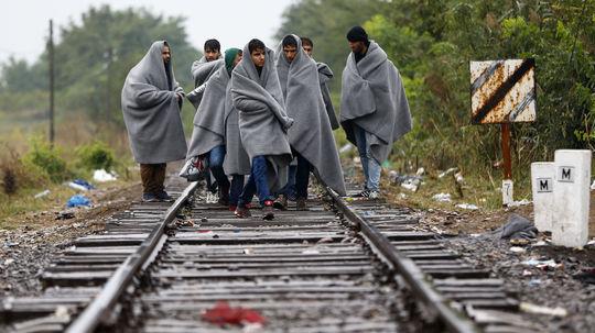 utečenci, Maďarsko