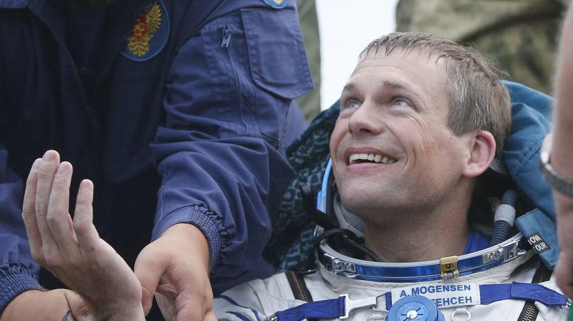 dánsky astronaut,  Andreas Mogensen