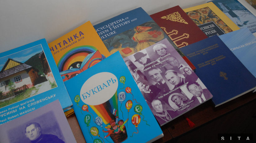 rusínska literatúra, rusínčina, knihy