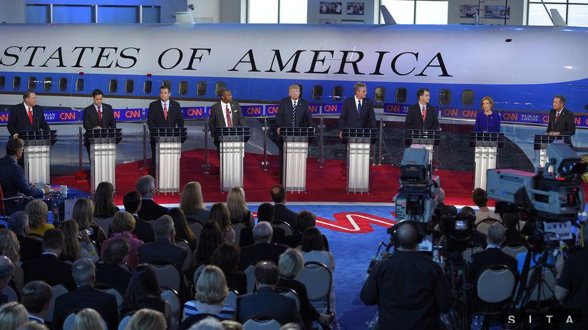 USA, republikáni, kandidáti na prezidenta,...