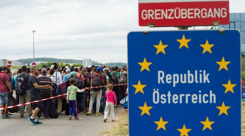 rakúsko, hranice, utečenci, migranti, migračná...