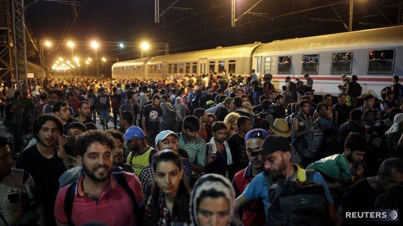 utečenci, migranti, migračná kríza, maďarsko,...