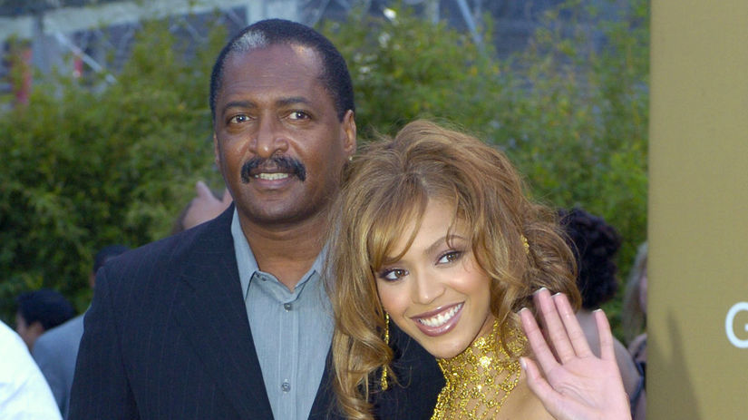 People Beyonce Knowles a jej otec Matthew Knowles