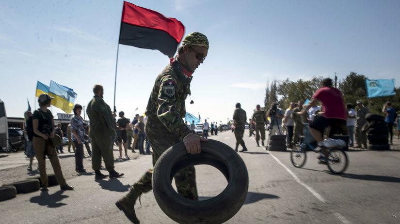 ukrajina, krym, blokáda, tatári, pravý sektor,