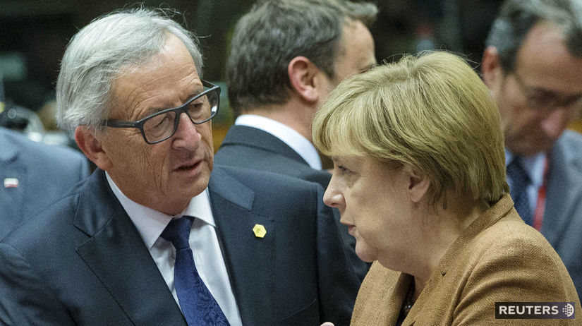 Angela Merkelová, Jean Claude Juncker