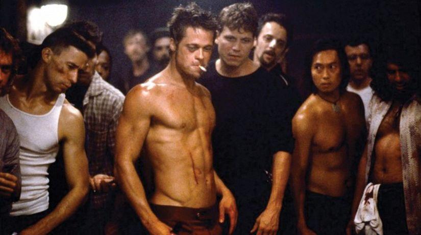 Klub bitkarov, Brad Pitt