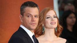 Matt Damon a Jessica Chastain