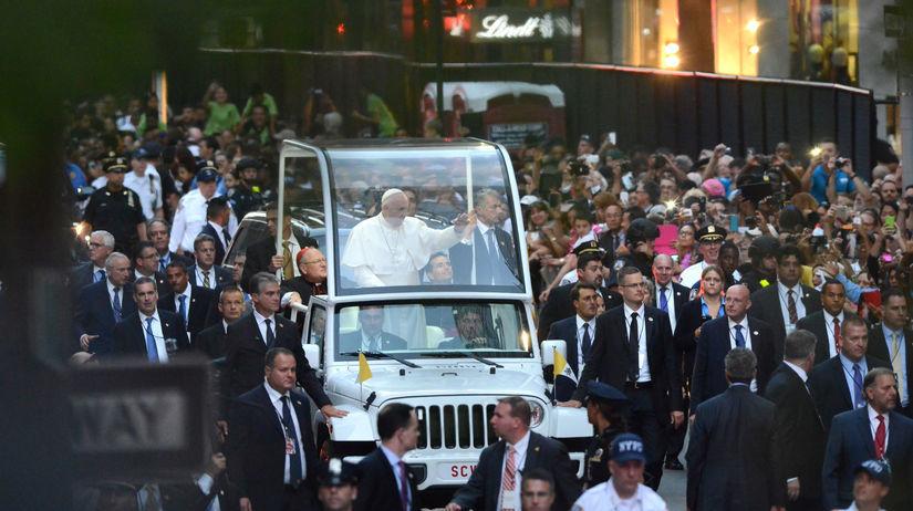 pápež, New York
