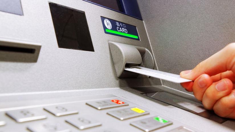 bankomat, peniaze, banka