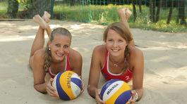 plazovy volejbal, Dominika Nestarcova, Natalia Dubovcova
