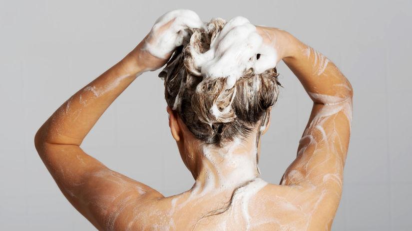 šampón, žena