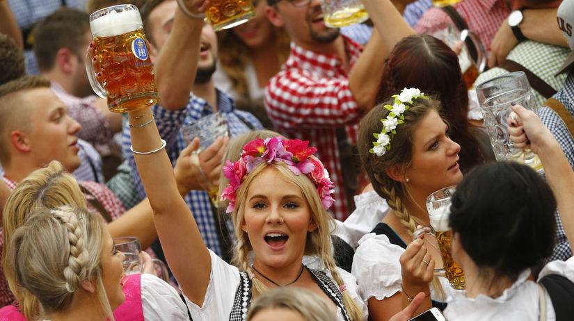 Oktoberfest, pivo, Nemecko, Mníchov, chmeľový...