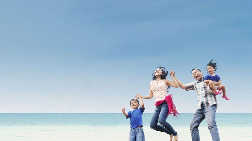 rodina, Číňania, Číňan, radosť, dovolenka,...