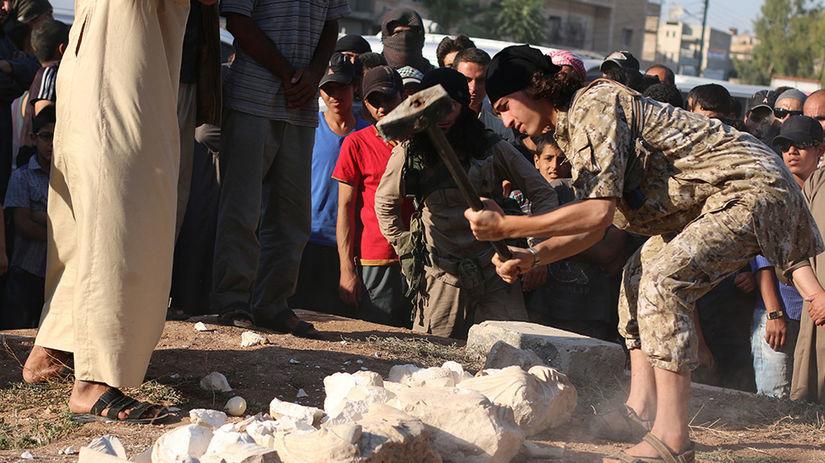islamisti, Palmýra