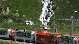 Švajčiarsko, vlak, koľajnice,