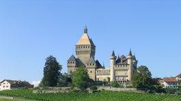 Švajčiarsko, zámok, hrad,