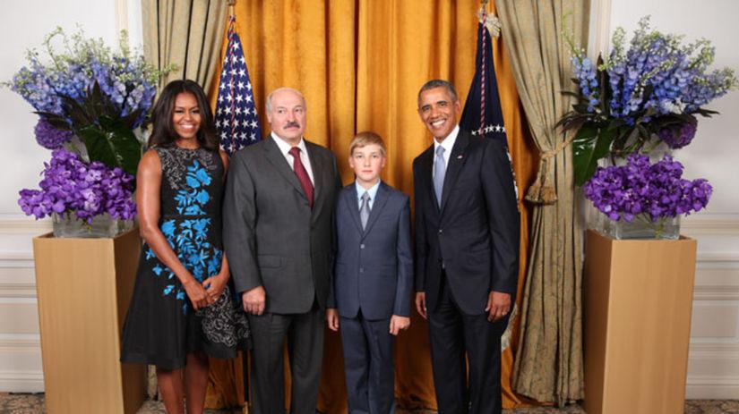 Alexandr Lukašenko, Nikolaj Lukašenko, Barack...