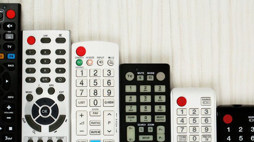 televízory, diaľkový ovládač, televízor, tv