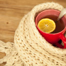 prechladnutie, čaj, citrón, chrípka