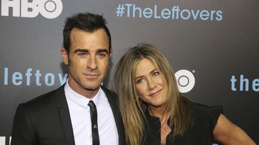 Herecký a manželský pár Justin Theroux a...
