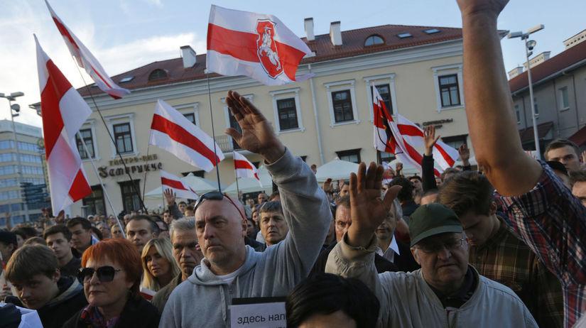 Bielorusko, protest