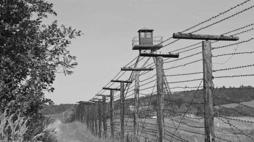 hranica, plot, železná opona