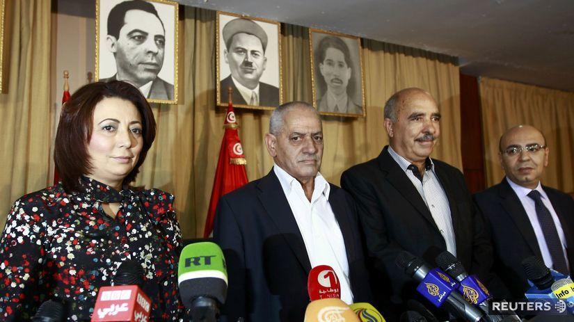 nobelovacena za mier 2015, Tuniský kvartet pre...