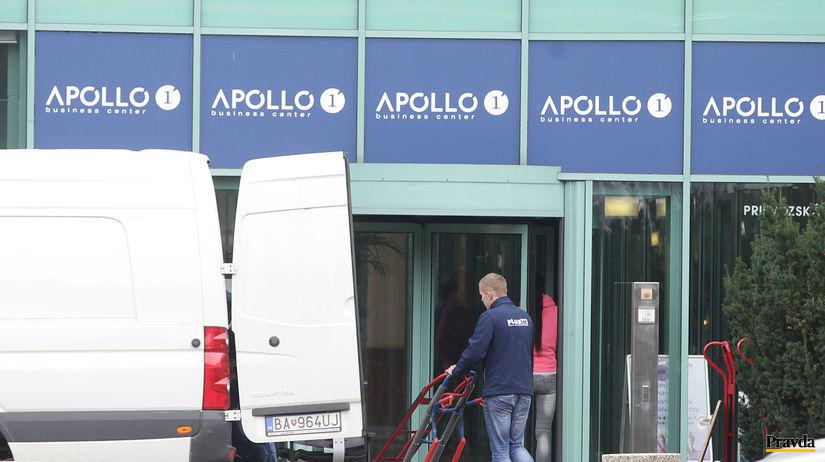 apollo business center I. abcI, stahovanie
