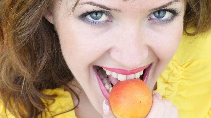 ovocie, marhule, marhuľa