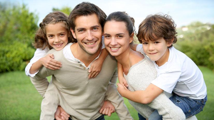 rodina, deti, rodičia