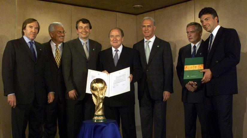Franz Beckenbauer, Sepp Blatter