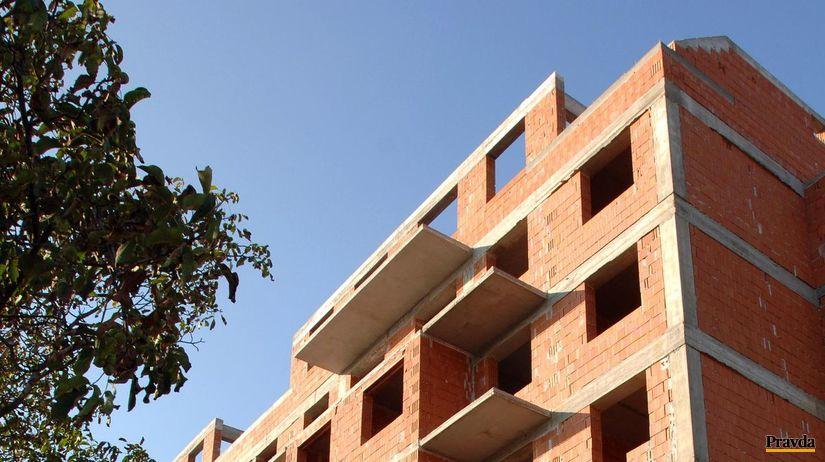 nájomné byty, bytovka, stavba