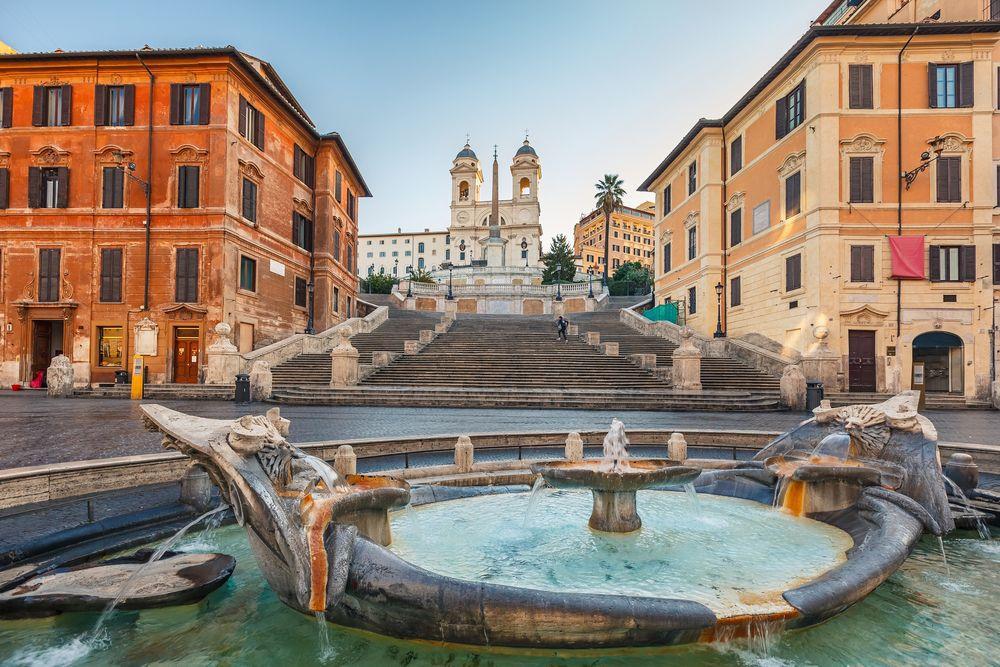 Španielske schody, Rím, Taliansko
