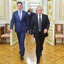 Rusko, Sýria, Asad, Putin