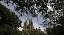 Sagrada Família, Barcelona, Španielsko, chrám, bazilika, kostol