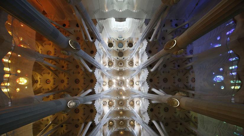 Sagrada Família, Barcelona, Španielsko, chrám,...
