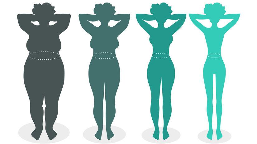 schudnúť, chudnutie