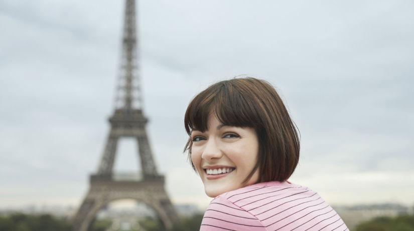 žena, Paríž, šarm