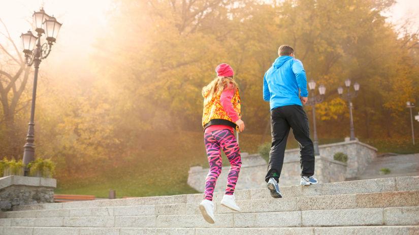 schody, cvičenie, fitnes