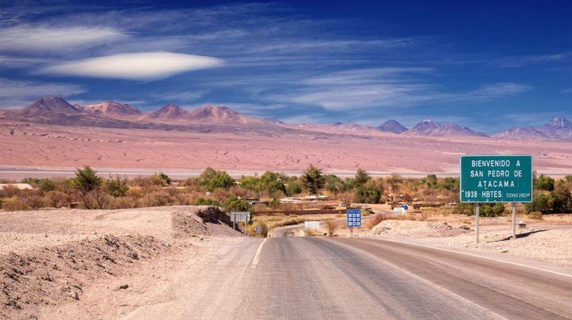 púšť Atacama, najsuchšie miesto, Čile, Chile,