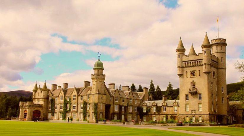 Zámok Balmoral, Škótsko, sídlo, Británia, hrad