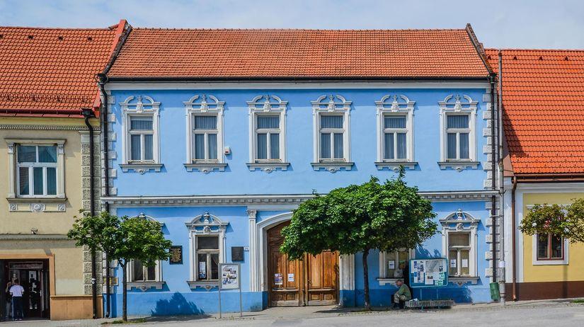 múzeum Ľudovíta Štúra, budova, Modra