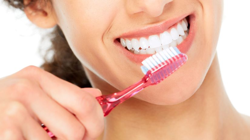 zuby, zdravé zuby, biele zuby