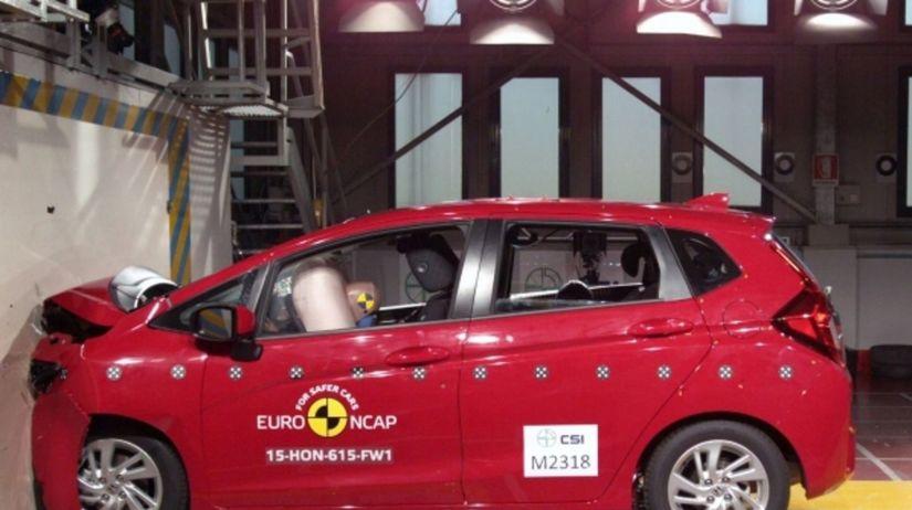 Euro NCAP 2015 - Honda Jazz