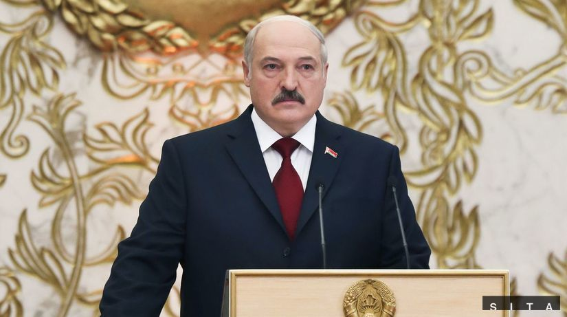 Lukašenko, bielorusko